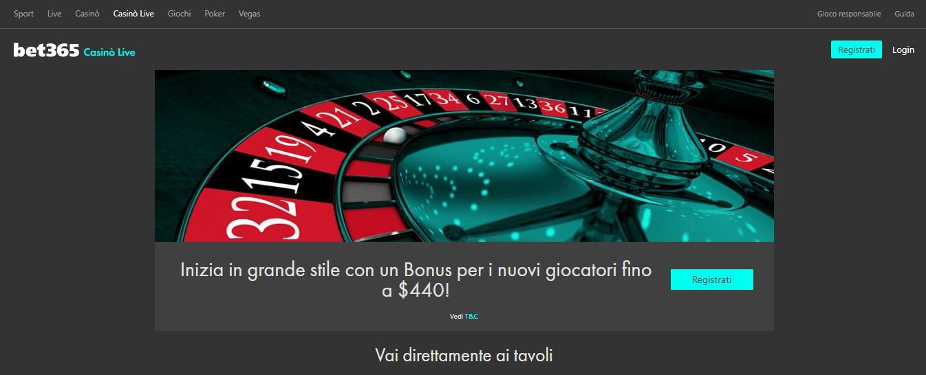 Bet365 Registrazione da mobile