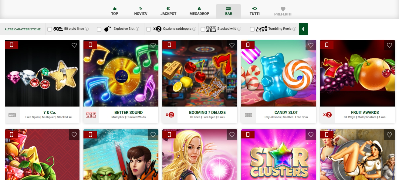 Sisal Quick Games Mobile
